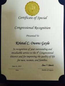 Kristal Owens Award