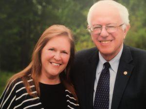 Jane Sanders and her husband, U.S. Sen. Bernie Sanders