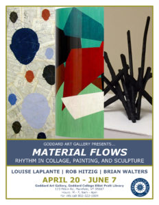 Art Gallery - Material Flows Poster