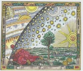 illustration of nature and celestial elements