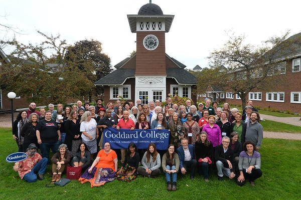 Stay Connected, Goddard College Alumni Group Photo